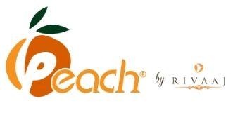 peach by rivaaj logo