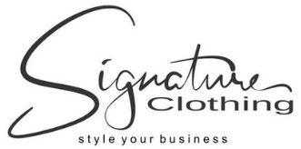 signature clothing logo