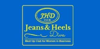 jeans and heels divas logo