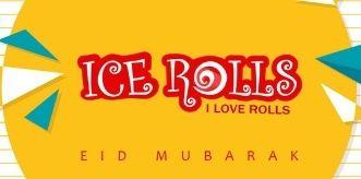 Ice Rolls logo