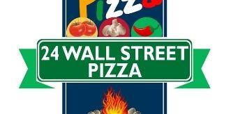 24 Wall Street Pizza logo