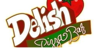 Delish Pizza Bar logo