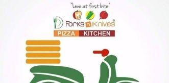 Forks n Knives Pizza logo