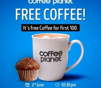 Coffee Planet banner