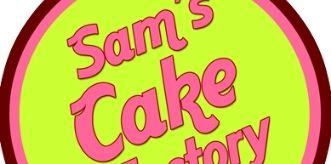 Sam's Cake Factory logo