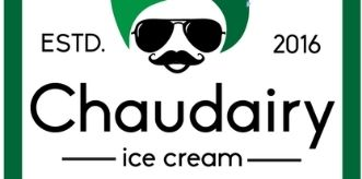 Chaudairy Ice cream logo