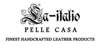 La-italio Pelle Casa logo